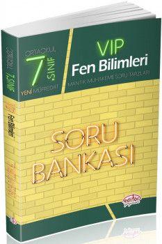 Editör Yayınları 7. Sınıf Vip Fen Bilimleri Soru Bankası