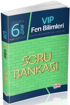 Editör Yayınları 6. Sınıf Vip Fen Bilimleri Soru Bankası