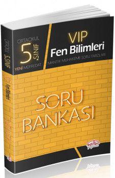 Editör Yayınları 5. Sınıf Vip Fen Bilimleri Soru Bankası