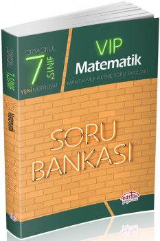 Editör Yayınları 7. Sınıf Vip Matematik Soru Bankası