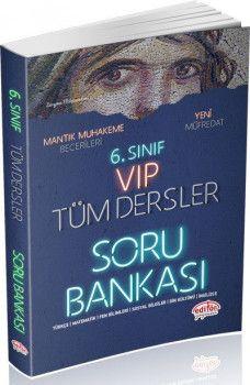 Editör Yayınları 6. Sınıf VIP Tüm Dersler Soru Bankası