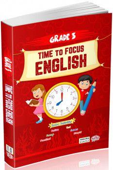 Editör Yayınları 3. Sınıf Angora Serisi Time to Focus English