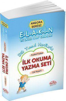 Editör Yayınları Angora Serisi Dik Temel Harflerle İlk Okuma Yazma Seti