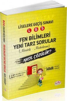 Editör Yayınları LGS Fen Bilimleri Mantık Muhakeme Soruları Nasıl Çözülür