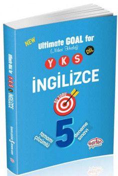 Editör Yayınları YKS DİL İngilizce Tamamı Çözümlü 5 Deneme