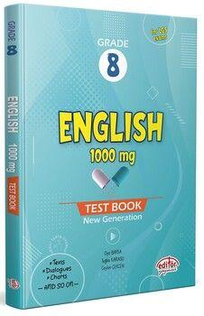 Editör Yayınları 8 Grade English 1000 mg Test Book