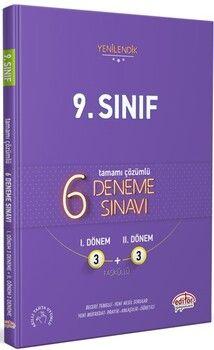 Editör Yayınları 9. Sınıf 3+3 Deneme Sınavı
