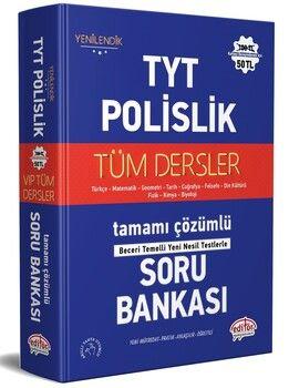 Editör Yayınları TYT Polislik Tüm Dersler Soru Bankası