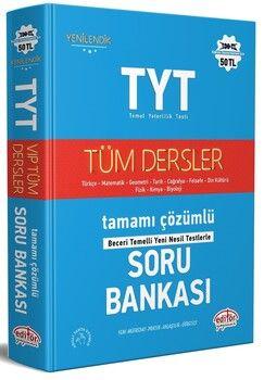 Editör Yayınları TYT Tüm Dersler Soru Bankası