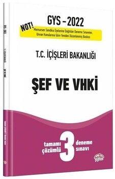Editör Yayınları 2022 GYS İçişleri Bakanlığı Şef ve VHKİ 3 Deneme