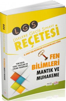 Editör Yayınları LGS Fen Bilimleri Mantık ve Muhakeme