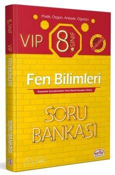 Editör Yayınları 8. Sınıf VIP Fen Bilimleri Soru Bankası