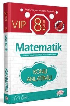 Editör Yayınları 8. Sınıf VIP Matematik Konu Anlatımı