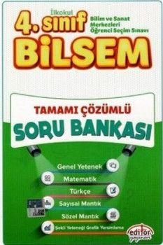 Editör Yayınları 4. Sınıf Bilsem Tamamı Çözümlü Soru Bankası