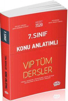 Editör Yayınları 7. Sınıf Tüm Dersler VIP Konu Anlatımlı Kırmızı Kitap