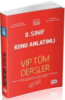 Editör Yayınları 8. Sınıf LGS Tüm Dersler VIP Konu Anlatımlı Kırmızı Kitap