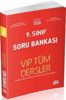 Editör Yayınları 9. Sınıf Tüm Dersler VIP Soru Bankası Kırmızı Kitap