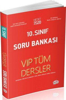 Editör Yayınları 10. Sınıf Tüm Dersler VIP Soru Bankası Kırmızı Kitap