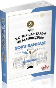Editör Yayınları 8. Sınıf Vip T.C. İnkilap Tarihi ve Atatürkçülük  Soru Bankası