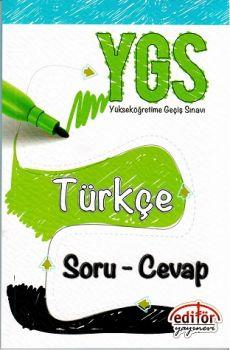 Editör Yayınları YGS Türkçe Soru Cevap