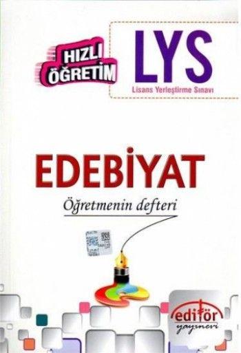 Editör Yayınları LYS Edebiyat Öğretmenin Defteri