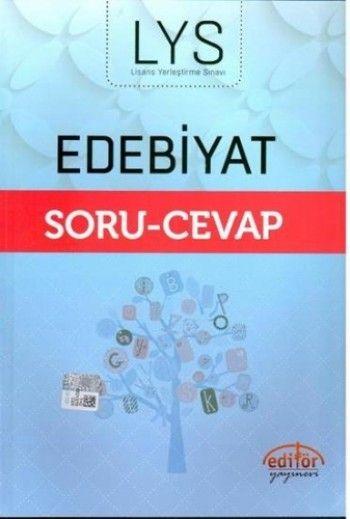 Editör Yayınları LYS Edebiyat Soru Cevap