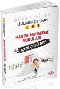 Editör Yayınları 8. SınıfLGS Mantık Muhakeme Soruları Nasıl Çözülür