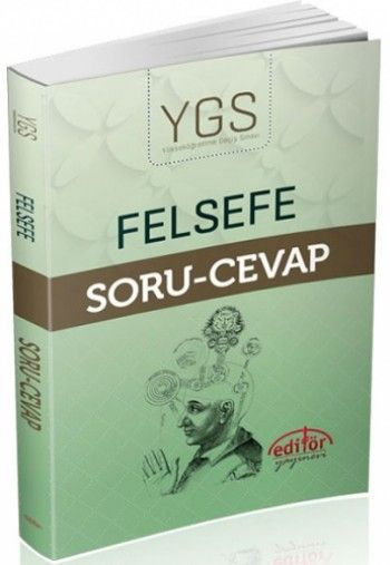 Editör Yayınları YGS Felsefe Soru Cevap