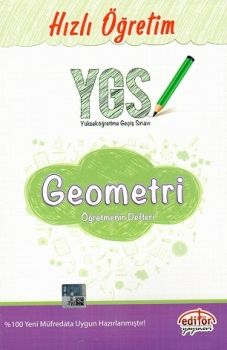 Editör YGS Geometri Öğretmenin Defteri Hızlı Öğretim