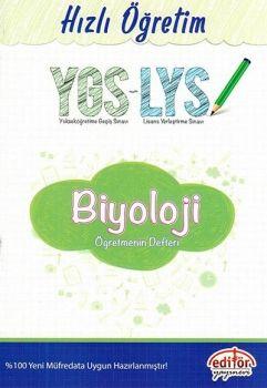 Editör YGS LYS Biyoloji Konu Öğretmen Defteri