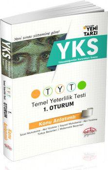 Editör YKS 1. Oturum TYT Türkçe Matematik Konu Anlatımlı Tek Kitap