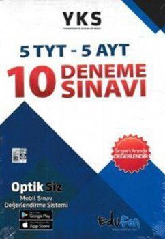 Edufon Yayınları TYT AYT 10 Deneme Sınavı