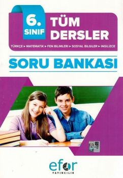 Efor Yayınları 6. Sınıf Tüm Dersler Soru Bankası
