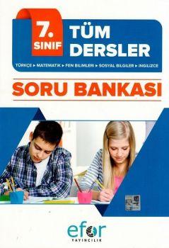 Efor Yayınları 7. Sınıf Tüm Dersler Soru Bankası