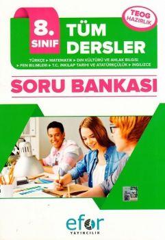 Efor Yayınları 8. Sınıf Tüm Dersler Soru Bankası