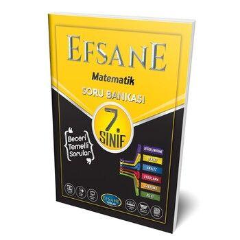 Efsane Yayınları 7.Sınıf Matematik Soru Bankası
