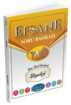 Efsane Yayınları TYT Biyoloji Soru Bankası