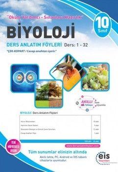 Eis Yayınları 10. Sınıf Biyoloji DAF Ders Anlatım Föyleri 1-32