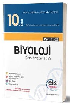 Eis Yayınları 10. Sınıf Biyoloji Ders Anlatım Föyü