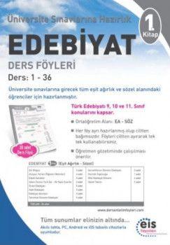 Eis Yayınları Üniversiteye Hazırlık Edebiyat Ders Föyleri 1. Kitap