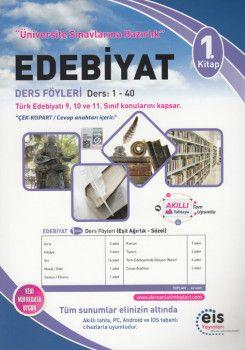 Eis Yayınları Edebiyat DAF Ders Anlatım Föyleri Üniversite Sınavlarına Hazırlık 1. Kitap 1-40
