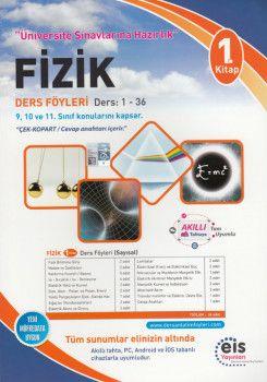 Eis Yayınları Fizik DAF Ders Anlatım Föyleri Üniversite Sınavlarına Hazırlık 1. Kitap 1-36
