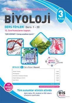 Eis YayınlarıBiyoloji DAF Ders Anlatım Föyleri Üniversite Sınavlarına Hazırlık 3. Kitap 1-20