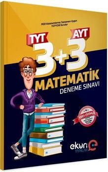 Eküri Yayınları TYT 3 AYT 3 Matematik Deneme Sınavı