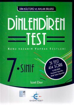 Eker Test Yayınları 7. Sınıf Din Kültürü ve Ahlak Bilgisi Dinlendiren Test