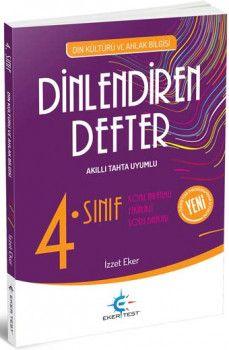 Eker Test Yayınları 4. Sınıf Din Kültürü ve Ahlak Bilgisi Dinlendiren Defter