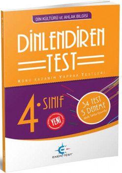 Eker Test Yayınları 4. Sınıf Din Kültürü ve Ahlak Bilgisi Dinlendiren Test