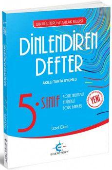 Eker Test Yayınları 5. Sınıf Din Kültürü ve Ahlak Bilgisi Dinlendiren Defter