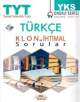 EKG Yayıncılık TYT Türkçe Klon ve İhtimal Sorular Enerji Serisi