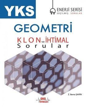 EKG Yayıncılık TYT AYT Geometri Klon ve İhtimal Sorular Enerji Serisi